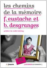 """Couverture livre """"les chemins de la mémoire"""""""