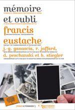 """Couverture livre """"mémoire et oubli"""""""